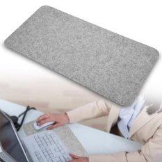 68x33cm Felts Table Mouse Pad Office Desk Laptop Anti-static Computer PC Pads Light Gray