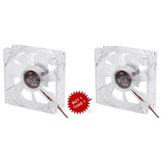 80mm Cpu Case Fan Transparent With 4 Led Blue Buy1 Take1 By James Shop.