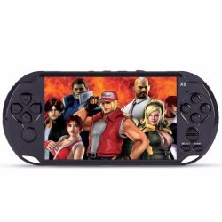 8GB Handheld Game Players 5 Inch Portable Game Console MP4 Player X9 Game Player with Camera TV Out TF Video Include Hundred of Classic Games(Black) - intl