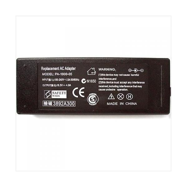90W 18.5V 4.9A AC Adapter for Laptop (5.5*2.5mm 3-Prong) product preview, discount at cheapest price