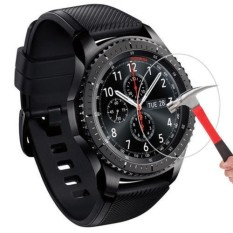 9H Hardness LCD Tempered Glass Screen Protector For Samsung Gear S3 Frontier - intl