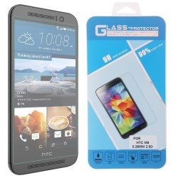9H Tempered Glass Screen Protector for HTC One M9