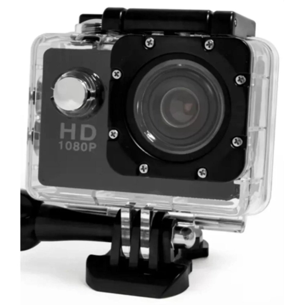 A8 12MP Ultimate Sports Action Cam Under Water Extreme (Black)
