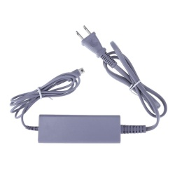 AC Power Adapter Charger for Nintendo Wii U Game Controller(Grey)-US - intl