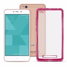 Xiaomi Redmi 4A Ace Soft TPU Jelly Case version 1.0 (v1) (Pink Clear
