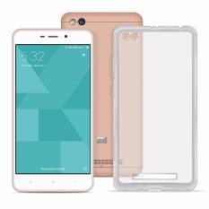 Xiaomi Redmi 4A Ace Soft TPU Jelly Case version 1 (v1) (Silver Clear