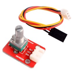 Adjustable Potentiometer Module with 3 Pin Dupont Line for Arduino / Intelligent Home Furnishing - intl