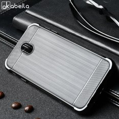 AKABEILA Luxury Soft TPU Phone Cases For Samsung Galaxy J7 2017 J730 J7 PRO EU Eurasian Version 5.5 inch Cover New Carbon Fiber Drawing Drop Resistance ...