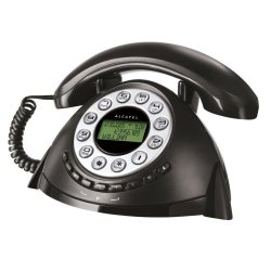 ALCATEL Temporis Retro Corded Telephone (Black)
