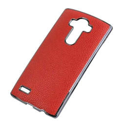 Aluminum Frame Case for LG G4 (Red) - Intl