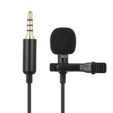 Andoer Ey-510a Mini Portable Clip-On Lapel Lavalier Condenser Mic Wired Microphone For Iphone Ipad Android Smartphone Dslr Camera Computer Pc Laptop - Intl By Tdigitals.