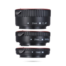 Andoer Macro Extension Tube Set 3-Piece 13mm 21mm 31mm Auto Focus Extension Tube Rings For Camera Body And Lens Of 35mm Slr Compatible For Canon All Ef And Ef-S Lenses - Intl By Tomtop.