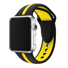 Apple Watch Band 38MM,Sports Silicone Bracelet Strap Band for Apple Watch Series 1/