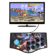 Arcade Joystick Fighting Stick Game Controller Gamepad For USB PC PS3 1.8M Cable - intl