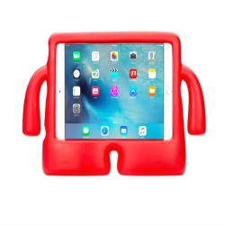Arjes Ibuy Silicone Case For Apple Ipad 2/3/4 (Red)
