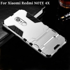 PHP 440. Armour Hard Plastic + Soft Silicone/ TPU Phone Case / Anti Falling Phone Cover/Shockproof PhoneShell /Phone Protector for Xiaomi Redmi Note 4X ...