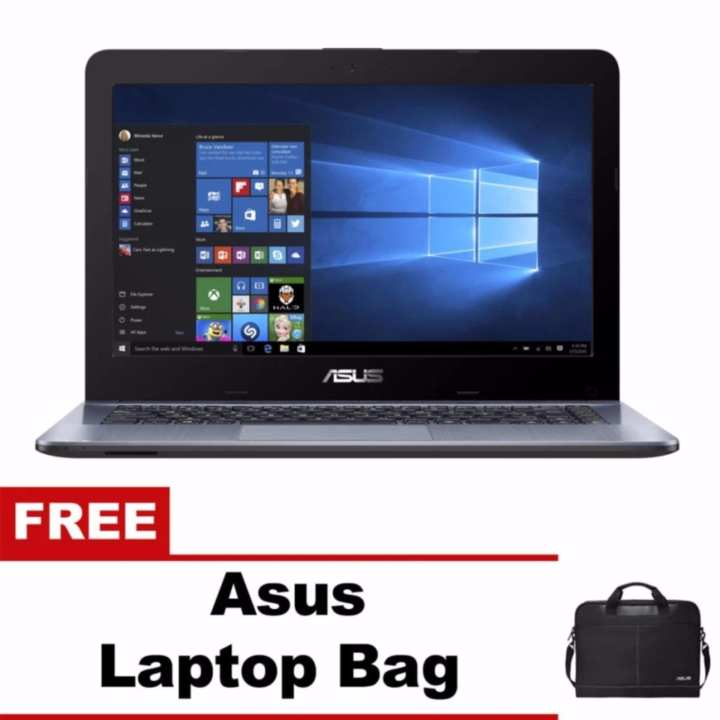 "Asus X441UA-GA259T 14"" Intel Core i3-7100U 4GB Windows 10 Laptop with Free Asus Laptop Bag"