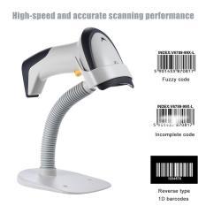 NETUM F2 Barcode Scanner Wireless Auto Sense 1D Laser Barcode Scanner  Reader - intl