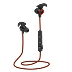 AX-02 Sports Bluetooth Headset Stereo Headphone for Smartphone(Red) - intl