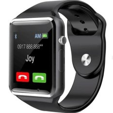 B08 Smart Watch With Sim Touchscreen Camera (black) By Happy Mix.