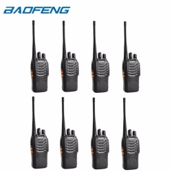 Baofeng BF-888S 400-470Hz UHF FM TRANSCEIVER Portable Walkie-Talkie Two-Way Radio Set of 8