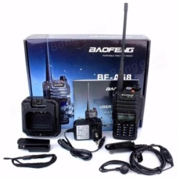 Baofeng BF-A58 UHF VHF 5W Two Way Radio Walkie Talkie 128CH Dual Band Waterproof and Anti dust