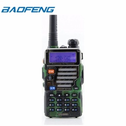 Baofeng UV-5RE VHF/UHF Dual Band Two-Way Radio (Green)