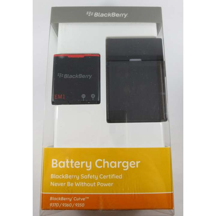 Battery Charger Kit for Blackberry Curve