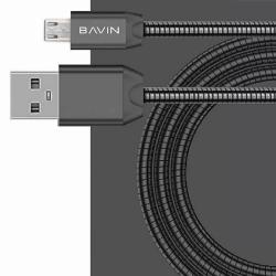 "Bavin Metal USB Type-C Charger and Data Cable For Asus Zenfone 3 (5.5"") ZE552KL (Black)"