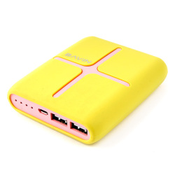 Bavin Pandora 12000mAh Power Bank (Yellow)