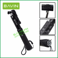 Universal Bluetooth Selfie Stick Expanded 20-90 Cm Length For Iphone Samsung Vivo Oppo Lg Lenovo Huawei Xiaomi By Bavin Official Store.