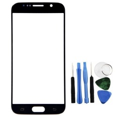 Black Front Glass Lens LCD Repair + Tools Part for Galaxy S6 SM-G920F -