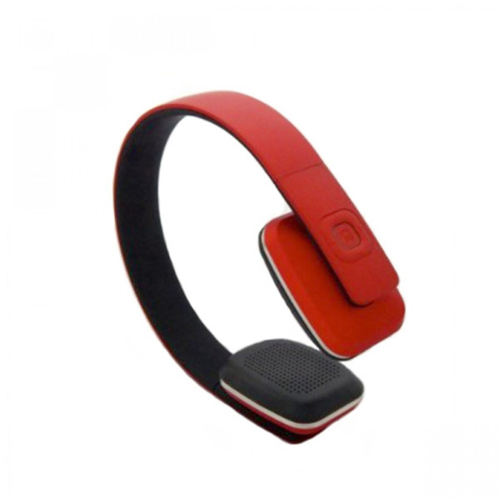 Bluetooth 4.1 Wireless Stereo Over Earphone Headset With Microphone (Red) 3719f09f18