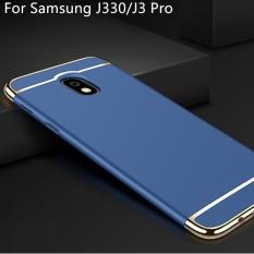 BONVAN Luxury 3 in 1 Electroplated Metal Plating Shockproof Plastic Phone Case Scrub Matte Back Cover