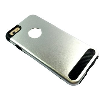 Brushed Metal Casing for Apple iPhone 6G (Silver)