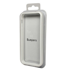 Bumper Case for Apple iPhone 5/5G/5th (White)