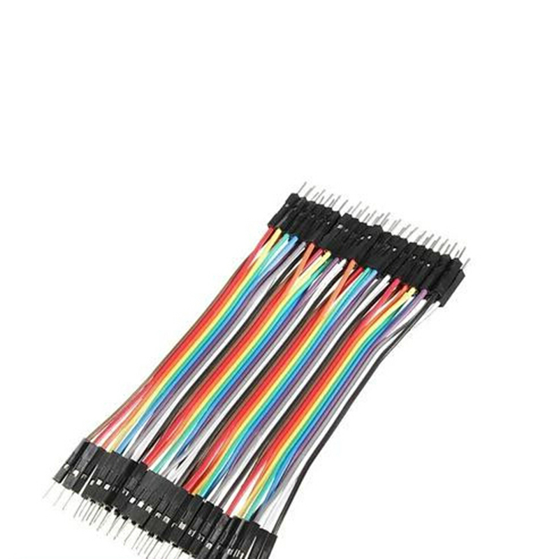 Buytra Male To Male Jumper Wire Ribbon Cable Dupont 10CM - thumbnail