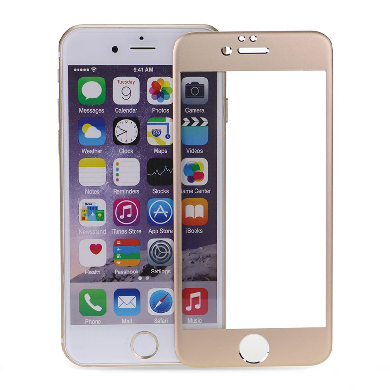 Buytra Screen Protector Film Full-Cover for iPhone 6 (Gold) product preview, discount at cheapest price