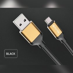 CA268 USB Data Cable 3 meters (Black)