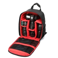 Camera Bag Backpack Waterproof DSLR Case with Carabiner for Canon RD - intl