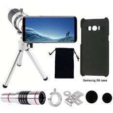 Camera Lens, 18x Universal Optical Telescope Mobile Lens with tripod and Phone Holder ,2pcs