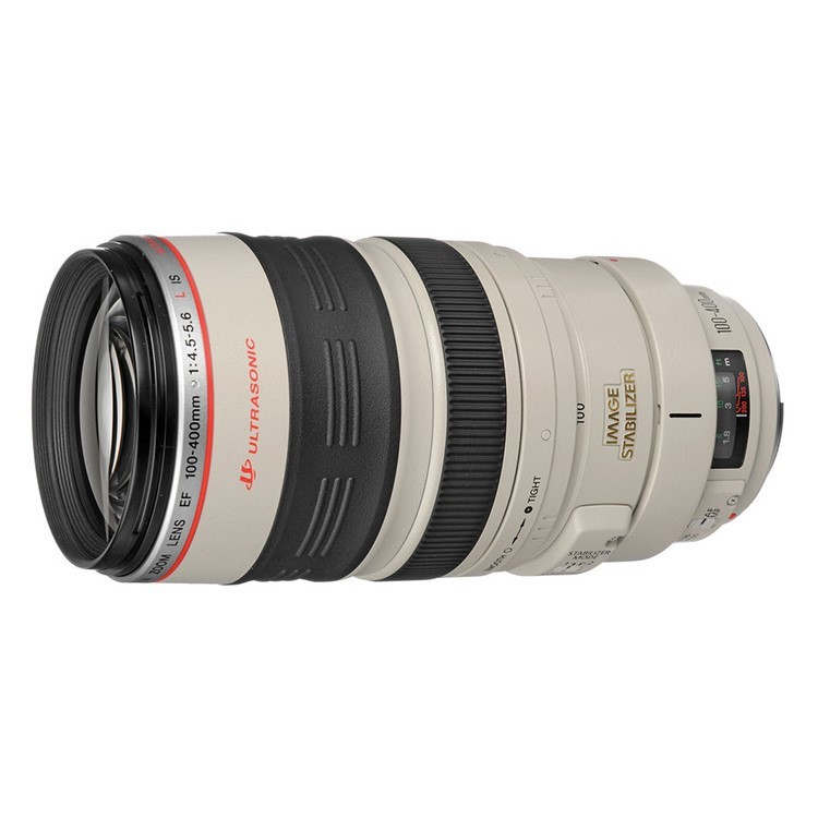 Canon EF 100-400mm f/4.5-5.6L f4.5-5.6L IS USM Lens White