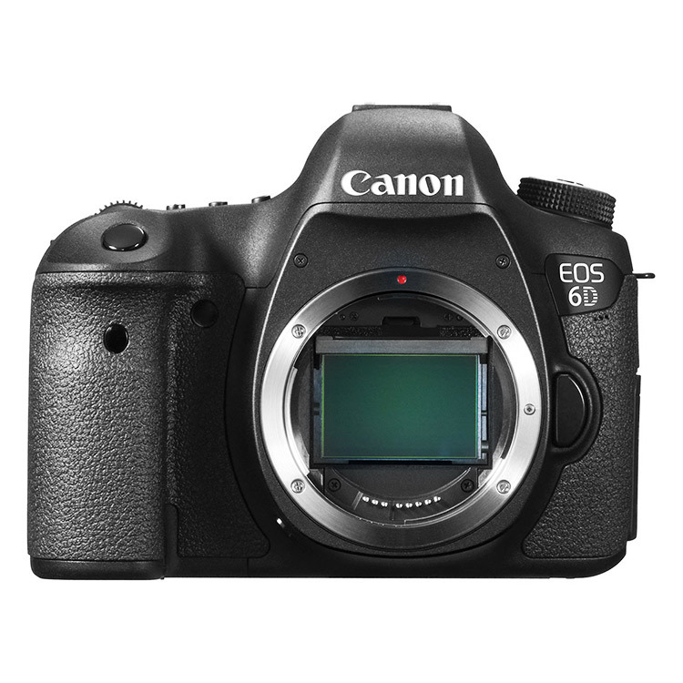 Canon EOS 6D Body DSRL Full Frame Digital Camera Black