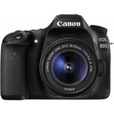 Canon Eos 80d Dslr Camera With 18-55 Is Stm Lens By 4p Store.