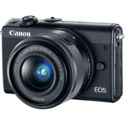 Canon EOS M100 Mirrorless Digital Camera with 15-45mm Lens - [Black]