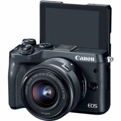 Canon EOS M6 + EF-M 15-45mm f3.5-6.3 IS STM (Black)