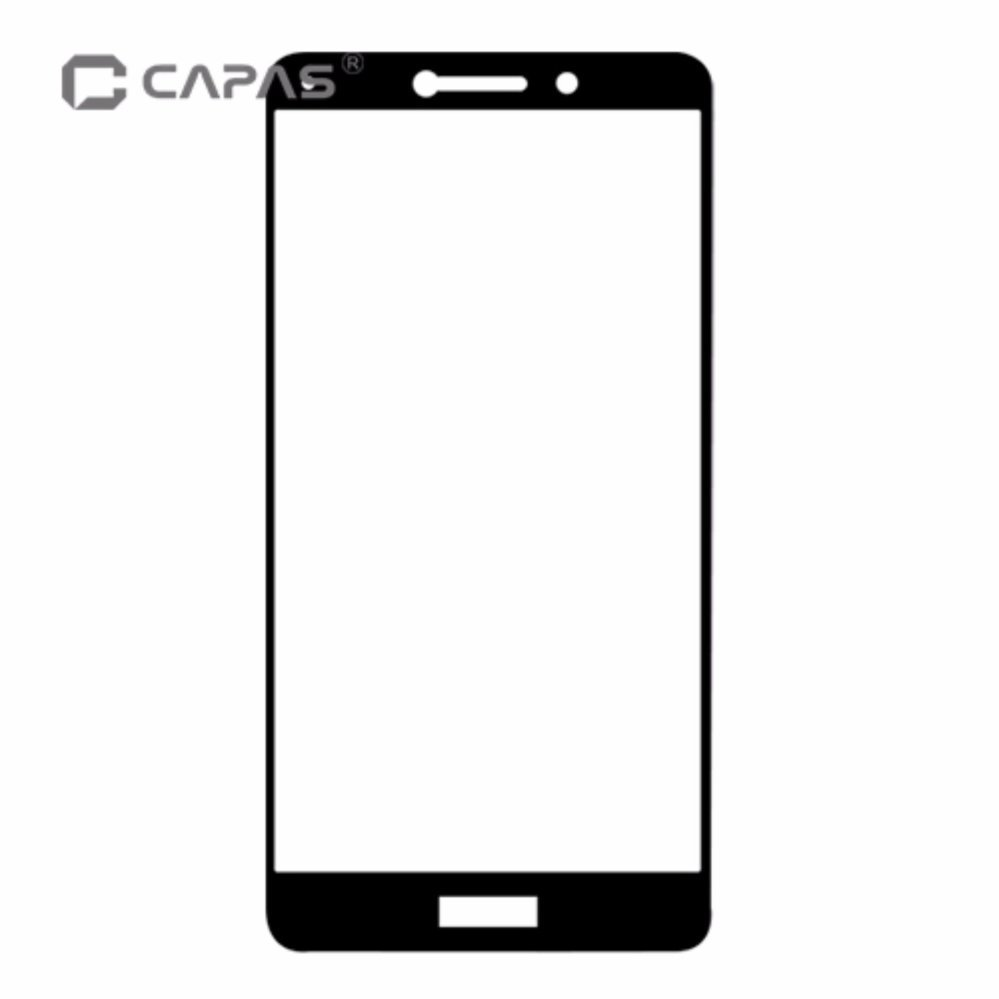 CAPAS Almost Full Cover Anti-burst Protective Film LCD Guard For Huawei