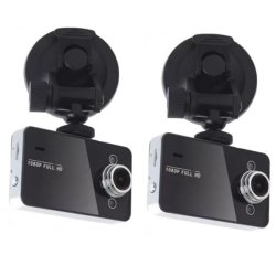 Keimav Car Cam DVR Recorder (Black) Set of 2