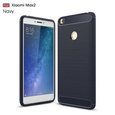 Carbon Fiber Case For Xiaomi Mi Max 2 Case Fashion Soft Silicone Gel Protection Cover For
