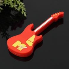 Cartoon Colorful Electric Guitar Model USB Flash Drive 2.0 Pen Stick Memory Red - intl